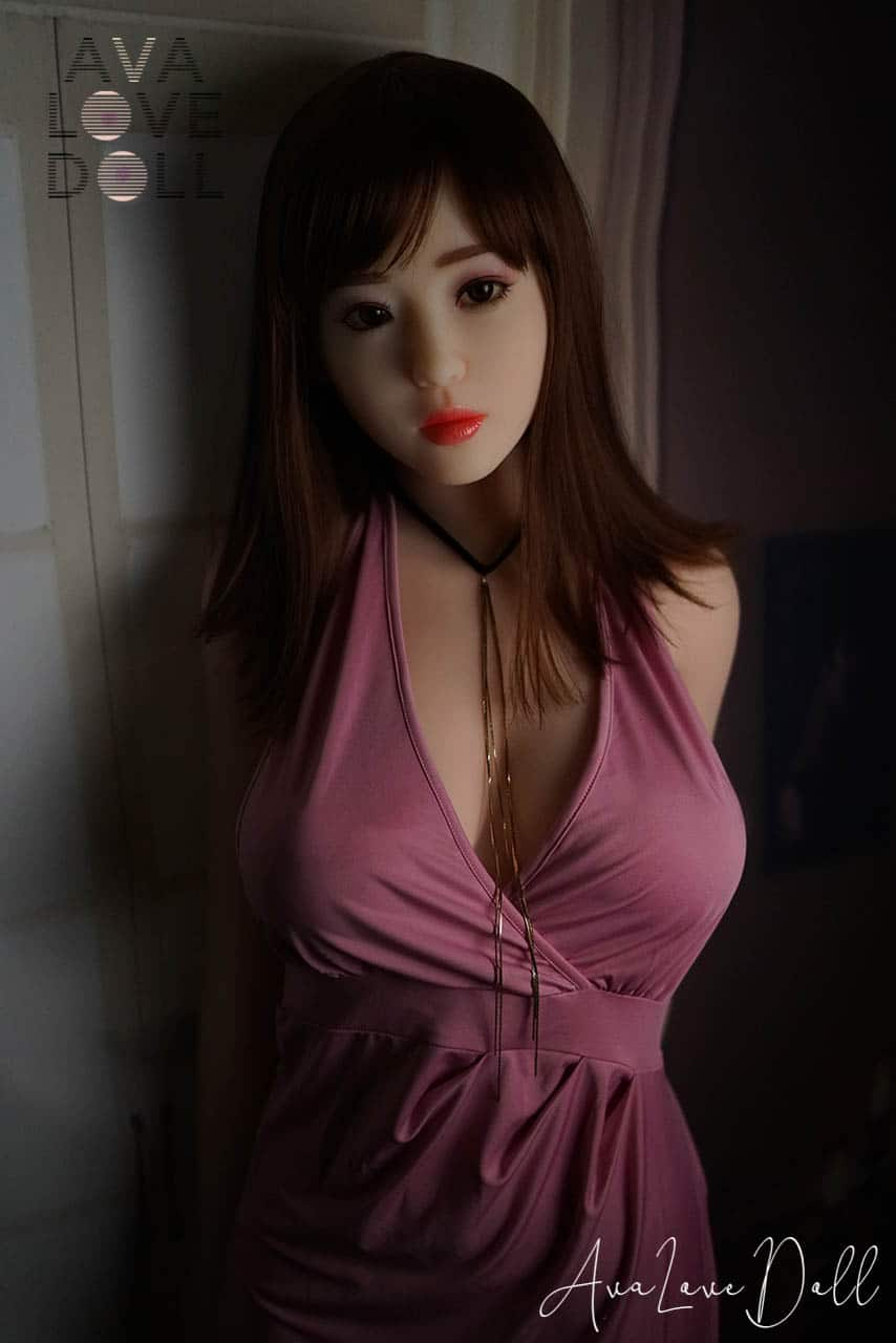 Nini Robe Violette Soirée Face Doll House