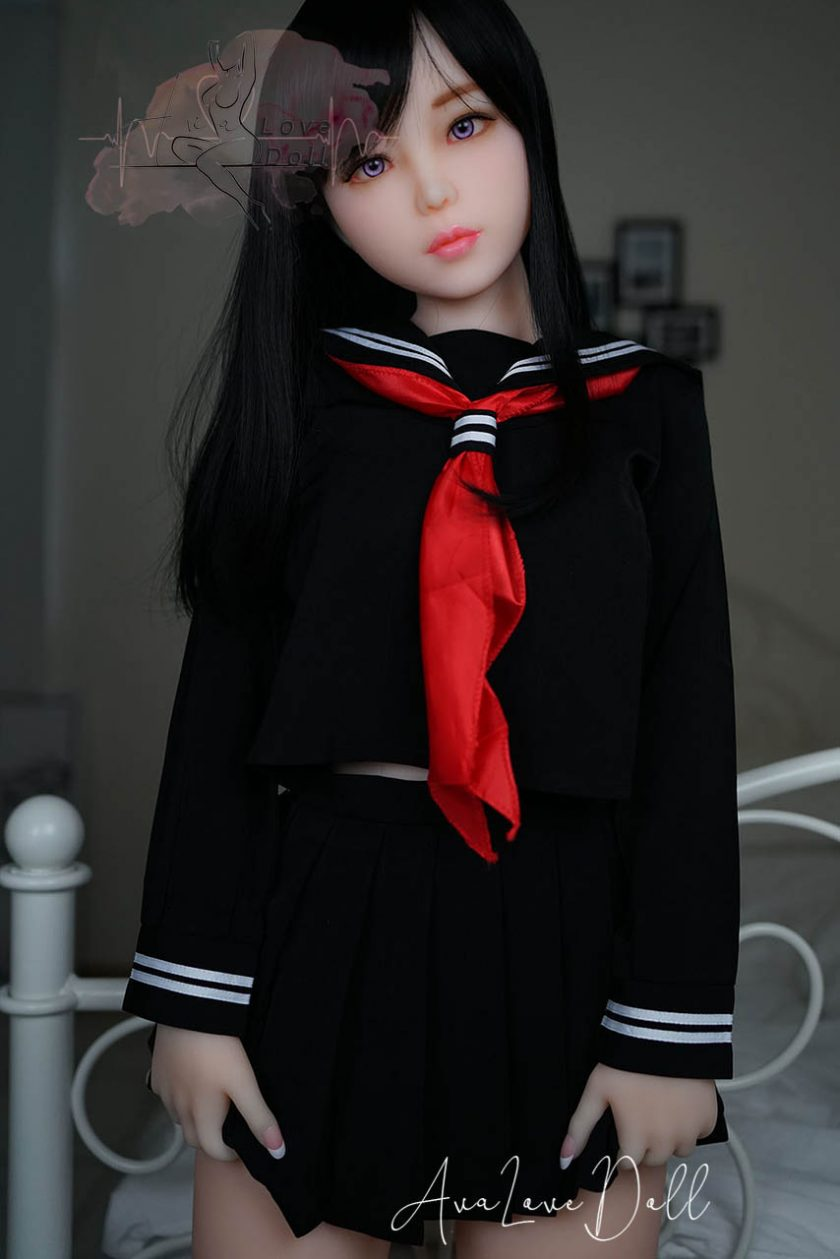 Akira Piper Doll Debout Schoolgirl Face Cuisses Zoom
