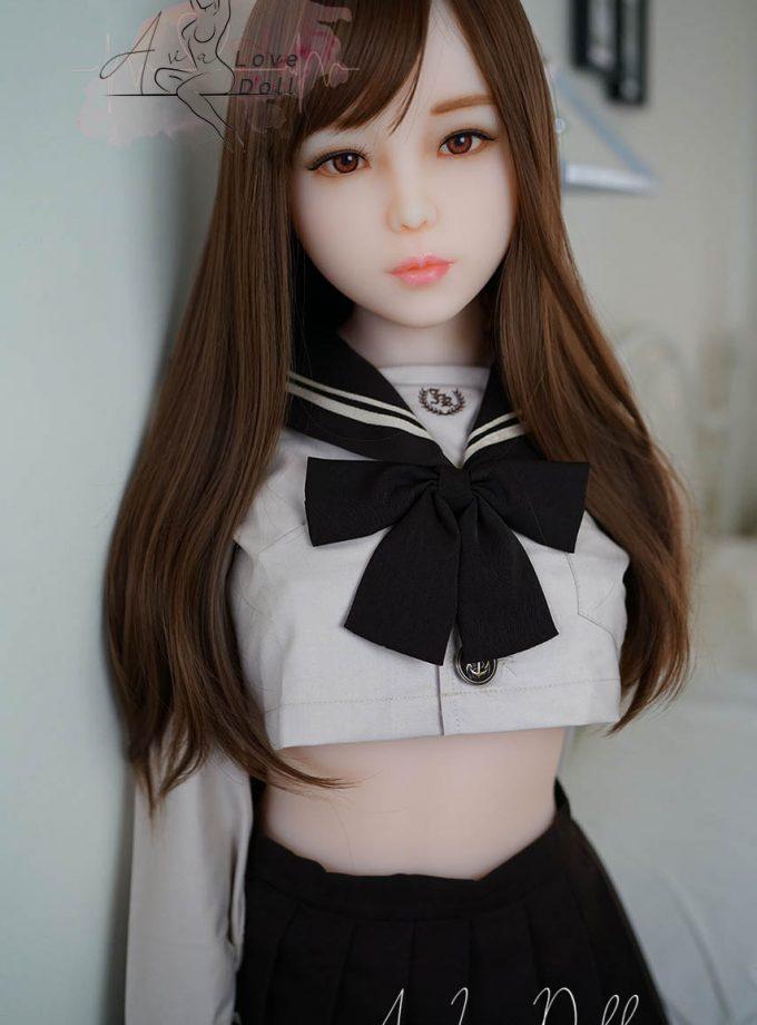 Akira Piper Doll Debout Schoolgirl Visage