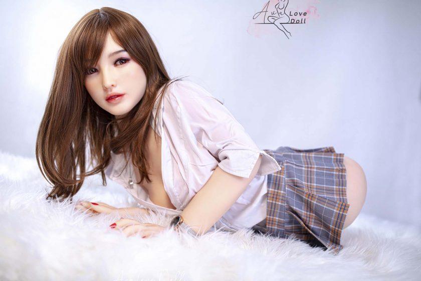 Buste Sexuelle Sino Doll Poupée Silicone Bonnet C 55 cm Tête 33 Linyanyan